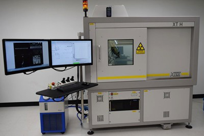 Large industrial X-ray inspection machine used for the scanning of vehicle and aviation components