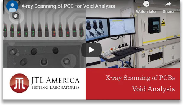 YouTube Video showing the Void Analysis process